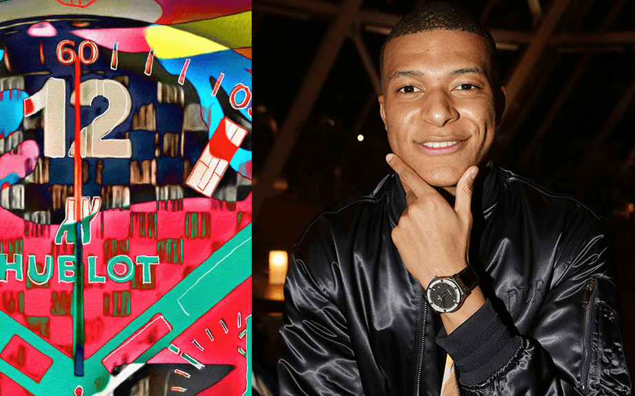 Kylian Mbappé lors de la Soirée Hublot Loves Art à la Fondation Vuitton, a Paris, France, le 16 Décembre 2019. Photo by Jerome Domine/ABACAPRESS.COM