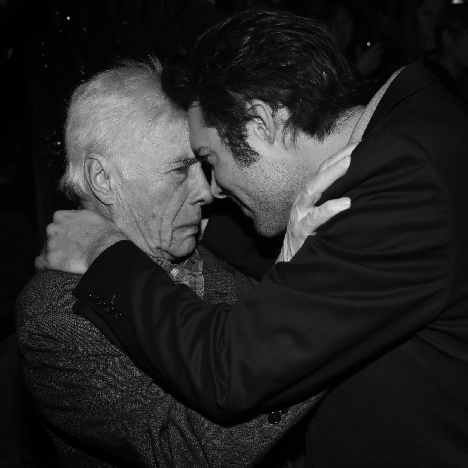 Guy Bedos et son fils Nicolas Bedos
