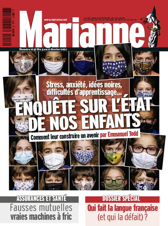 Super-Heros - Press : Mariane 2021 - Photo Jérôme Dominé